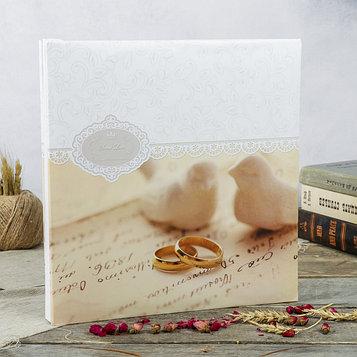 """Фотоальбом магнитный 30 листов """"Свадебный альбом-4"""" 31,5x32,5 см"""