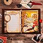 """Подарочный набор """"Родословная книга нашей семьи"""" с пером и чернильницей, фото 4"""