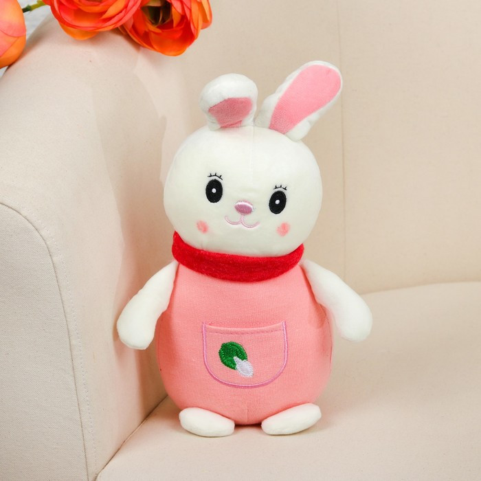 Мягкая игрушка «Зайка в костюмчике», цвета МИКС