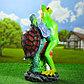 """Садовая фигура """"Танцующая лягушка с черепахой"""" 67см, фото 3"""