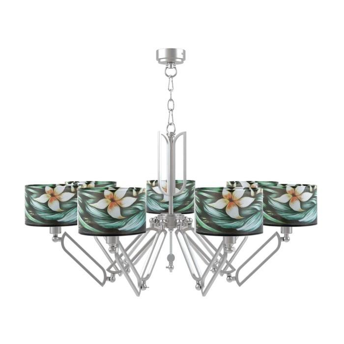 Люстра Hightech 15, 7x40Вт E14 никель