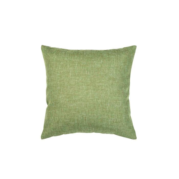 Подушка декоративная, размер 40 × 40 см, рогожка, цвет оливковый
