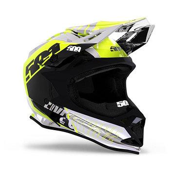 Шлем 509 Altitude Fidlock, размер S, жёлтый, чёрный, белый