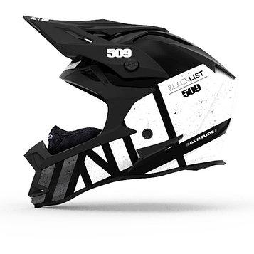 Шлем 509 Altitude Carbon, размер XS, белый, чёрный