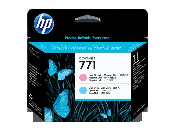 HP CE019A Печатающая головка светло-пурпурная и светло-голубая HP 771 для Designjet Z6200/Z6800