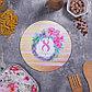 Многофункциональная кухонная доска + прихватка«С 8 Марта», 20 см, фото 4