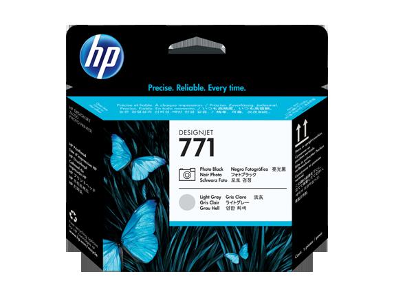 HP CE020A Печатающая головка фото черный и светло-серый HP 771 для Designjet Z6200/Z6800