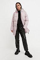 Полупальто женское Finn Flare, цвет розовый, размер 2XL