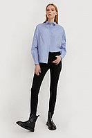 Брюки женские (джинсы) Finn Flare, цвет черный, размер W30L32