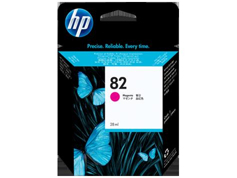 HP CH567A Картридж пурпурный HP 82 для DesignJet 500/510/800/820/815, 28 ml