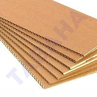 Картон листовой гофрированный марки КТГ-1