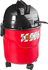 Пылесос хозяйственный, ЗУБР ПУ-15-1200 М1, модель М1-15, 15 л, 1200 Вт, сухая и влажная уборка, фото 2