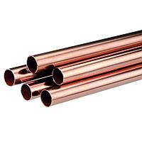 Труба медно-никелевая 13х3 мм МНЖМц10-1-1 (Мельхиор) ГОСТ 10092-2006 холоднокатаная