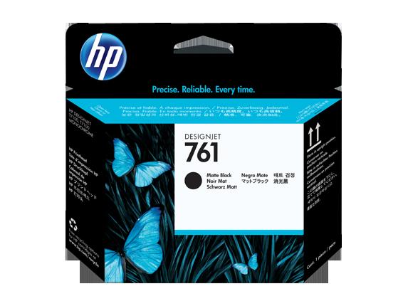 HP CH648A Печатающая головка черная матовая HP 761 для Designjet T7100, T7200