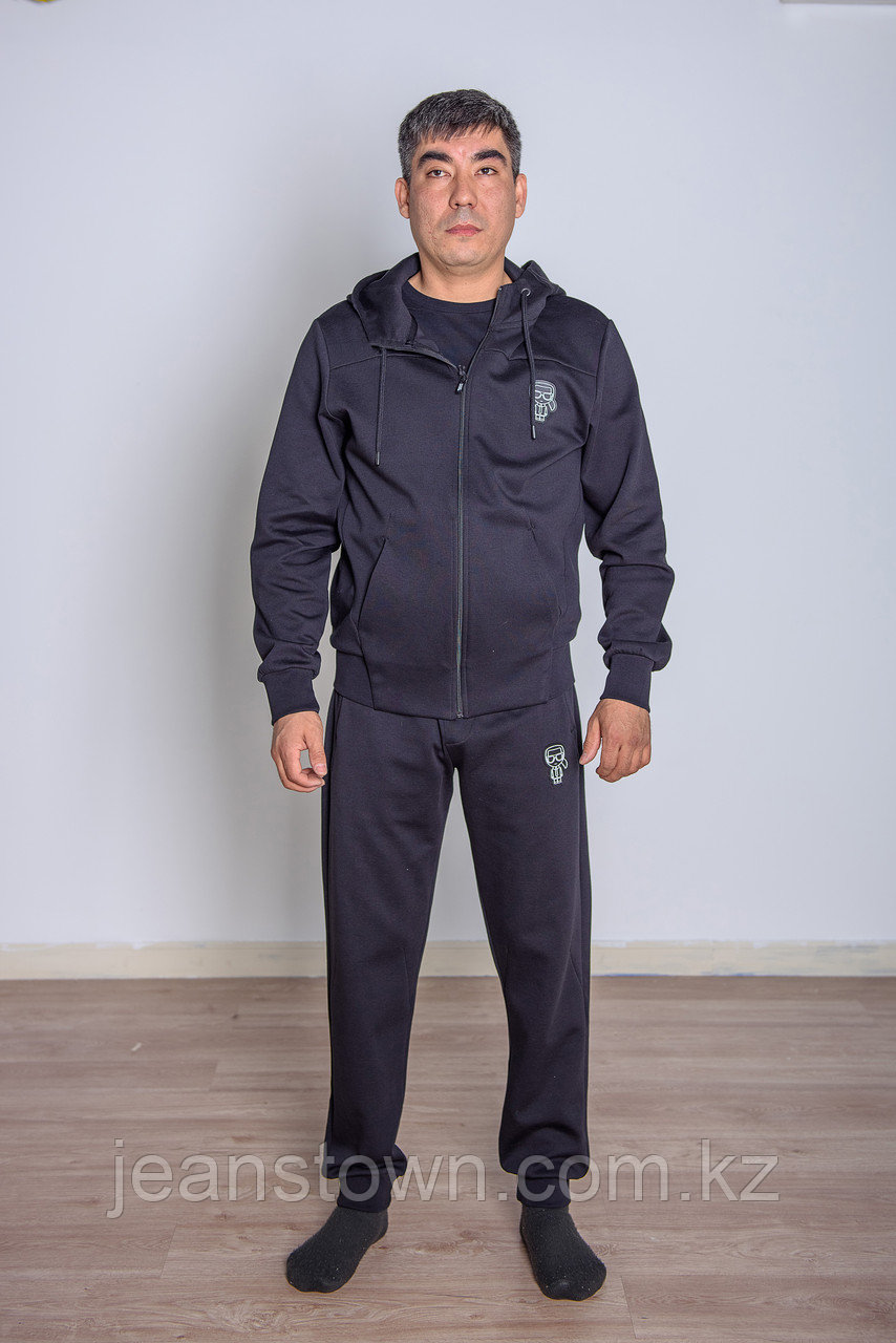 Мужской спортивный костюм Karl Lagerfeld  черный