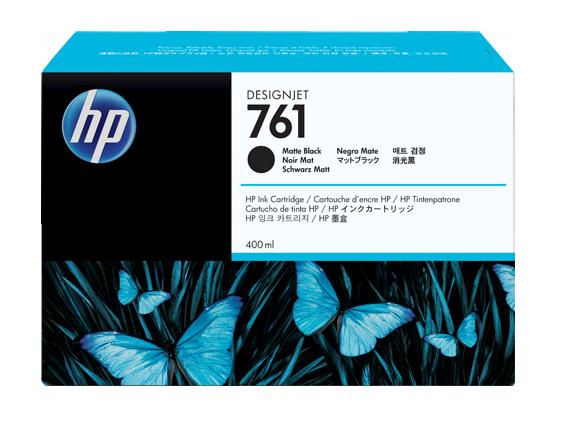HP CM991A Картридж черный матовый HP 761 для Designjet T7100, 400 ml