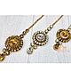 Тика - индийское украшение на голову (средная), 1шт, фото 2