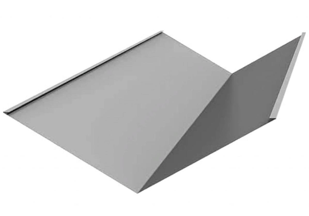 Планка ендовы нижняя 295х295х2000 мм Оцинк  /  Ендова внутренняя 295х295 мм ОЦИНК