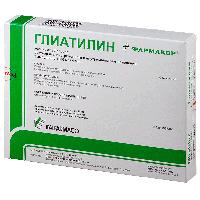 Глиатилин 1000 мг/4мл 4мл №3 амп.