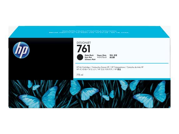 HP CM997A Картридж матовый черный HP 761 для Designjet T7100/T7200