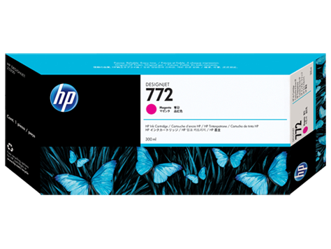 HP CN629A Картридж пурпурный HP 772 для Designjet Z5200/Z5400, 300 мл