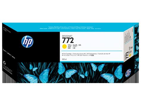 HP CN630A Картридж желтый HP 772 для Designjet Z5200/Z5400, 300 мл
