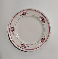 Закусочная тарелка (роз.горох) набор из 6