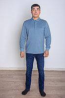 Кофта мужская голубая Lacoste