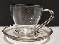 Чайная пара стеклянная набор из 6
