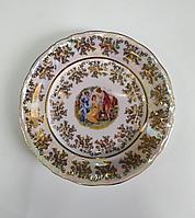 Закусочная тарелка 19см бежевая мадонна