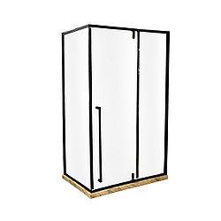 Душевая стеклянная перегородка 120x90