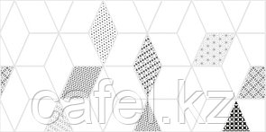 Кафель | Плитка настенная 30х60 Тренд | Trend 7С белый тип 3