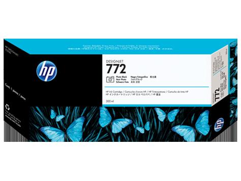 HP CN633A Картридж фото черный HP 772 для Designjet Z5200/Z5400, 300 мл