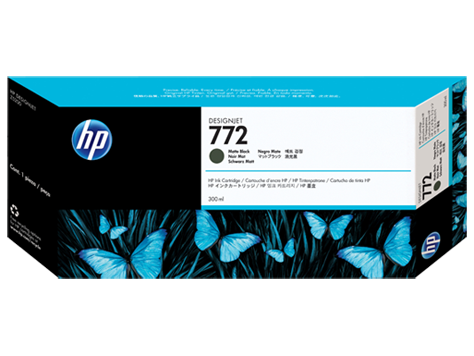 HP CN635A Картридж матовый черный HP 772 для Designjet Z5200/Z5400, 300 мл