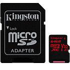Карта памяти microSD 64GB Class 10 Kingston