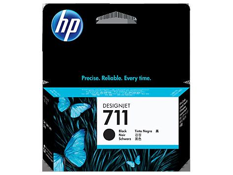 HP CZ129A Картридж черный HP 711 для Designjet T120/T520/