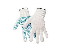 Перчатки х/б с точечным ПВХ-покрытием