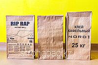Мешки бумажные с клапаном для сухих строительных смесей