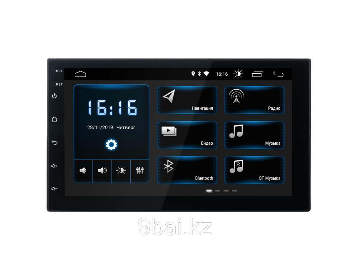 """ГУ Universal  7"""" INCAR DTA-7707 Android 10/1024*600, wi-fi, DSP"""