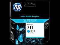 HP CZ130A Картридж голубой HP 711 для плоттера Designjet T120/T520, 29 ml