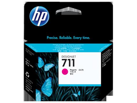 HP CZ131A Картридж пурпурный HP 711 для Designjet T120/T520 ePrinter, 29 ml