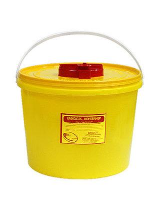 Контейнер для сбора острого инструментария 11.5 литров, фото 2
