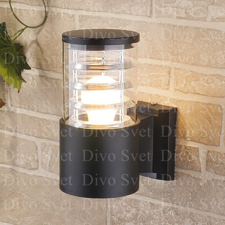 Корпус светильника односторонний с Е27, настенный, декоративный, уличный, для подсветки стен, заборов