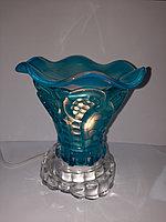 Аромалампа электрическая, голубая, фото 1