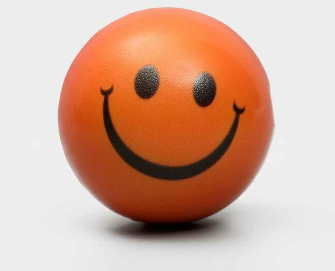 Мячик зефирный Смайлик для животных