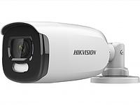 DS-2CE12DFT-F - 2Мп уличная цилиндрическая HD-TVI камера с подсветкой до 40м