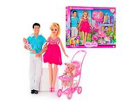 Кукла DEFA 8088 беременная, KEN, коляска с ребёнком, аксессуары