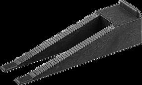 Клин для системы выранивания плитки ЗУБР, 250 шт. (3387-250)