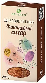 Финиковый сахар 200 гр, Оргтиум,  сердечно-сосудистая система