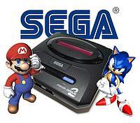 Телевизионная игровая приставка Sega Mega Drive 2